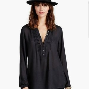 Lucky Brand | Pleated Tunic Top